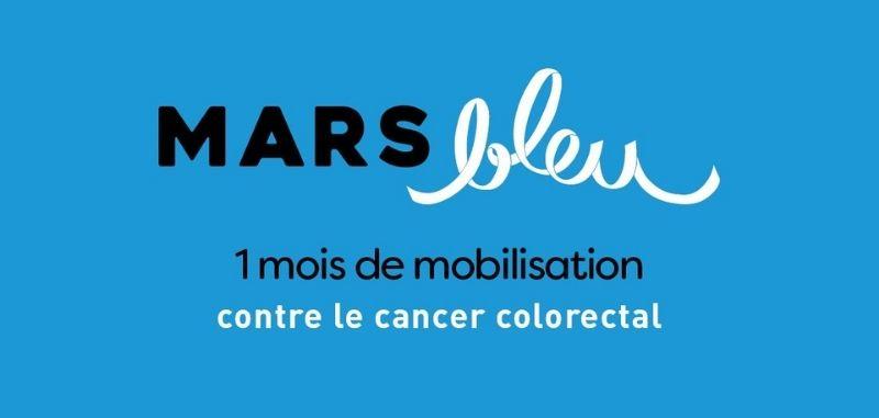 Mars bleu - Campagne de dépistage du cancer colorectal